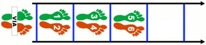 Risultati immagini per skip 2 appoggi scaletta